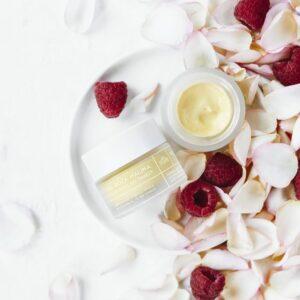 Ministerstwo Dobrego Mydła Krem do twarzy Róża i malina. Kosmetyki naturalne UK Dunia Organic
