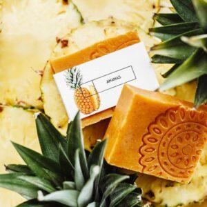 Ministerstwo Dobrego Mydła Mydło ananas . Kosmetyki naturalne UK Dunia Organic
