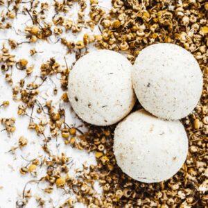 Ministerstwo Dobrego Mydła Półkula do kąpieli Rumianek Kosmetyki naturalne UK Dunia Organic