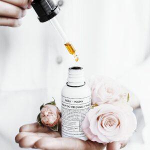 Ministerstwo Dobrego Mydła Serum róża-malina . Kosmetyki naturalne UK Dunia Organic
