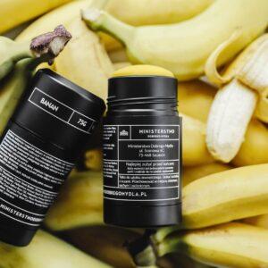 Ministerstwo Dobrego Mydła Szyft do ciała banan. Kosmetyki naturalne UK Dunia Organic