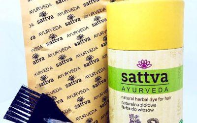 Sattva Ayurveda Henna do włosów Ciemny Blond 150g