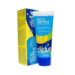 Ecodenta Pasta do zębów dla dzieci kolorowa. Naturalne kosmetyki do twarzy UK. Dunia Organic
