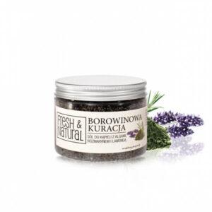 Fresh&Natural Borowinowa kuracja sól do kapieli . Kosmetyki naturalne uk Dunia Organic