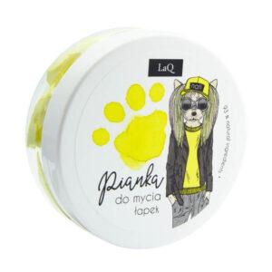 LaQ Pianka do mycia łapek żółta . Kosmetyki dla dzieci Dunia Organic UK