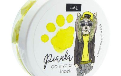 LaQ Pianka do mycia łapek – żółta 50 ml