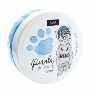 LaQ Pianka do mycia łapek niebieska . Kosmetyki dla dzieci Dunia Organic UK