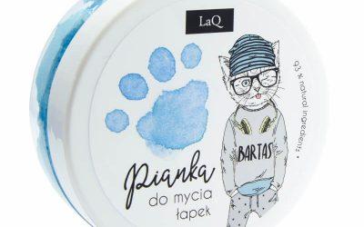 LaQ Pianka do mycia łapek – niebieska 50 ml