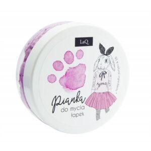 LaQ Pianka do mycia łapek różowa. Kosmetyki dla dzieci Dunia Organic UK