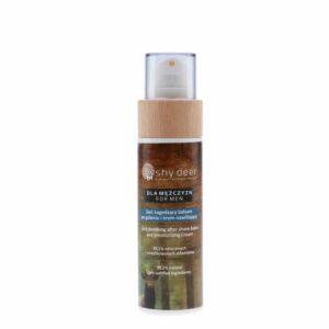 Shy Deer 2w1 Łagodzący balsam po goleniu i krem nawilżający. Kosmetyki naturalne uk