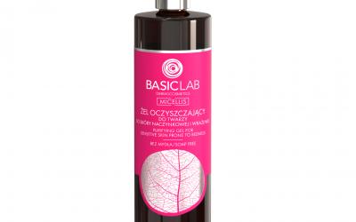BasicLab Żel oczyszczający do skóry naczynkowej i wrażliwej 300ml