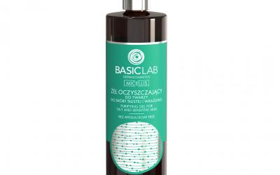 BasicLab Żel oczyszczający do skóry tłustej i wrażliwej 300ml