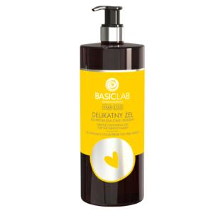 BasicLab Delikatny żel do mycia dla całej rodziny. Kosmetyki naturalne UK Dunia Organic.