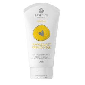 BasicLab Nawilżający krem do rąk . Kosmetyki naturalne UK Dunia Organic.