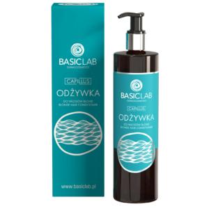 BasicLab Odżywka do włosów blond. Kosmetyki naturalne UK Dunia Organic.