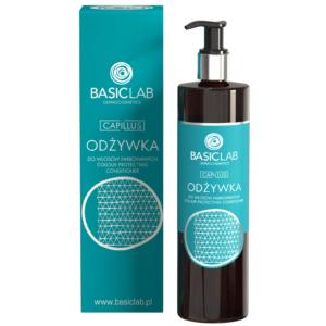 BasicLab Odżywka do włosów farbowanych. Kosmetyki naturalne UK Dunia Organic.