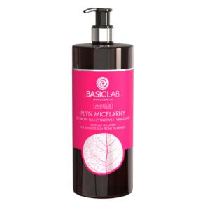 BasicLab Płyn Micelarny do skóry naczynkowej i wrażliwej 500ml. Kosmetyki naturalne UK Dunia Organic.