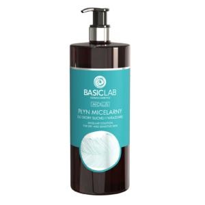 BasicLab Płyn Micelarny do skóry suchej i wrażliwej 500ml. Kosmetyki naturalne UK Dunia Organic.