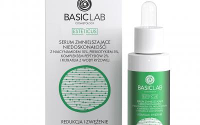 BasicLab Serum zmniejszające niedoskonałości z niacynamidem 10%