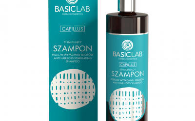 BasicLab Stymulujący Szampon na wypadanie włosów 300ml