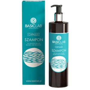 BasicLab Szampon do włosów blond. Kosmetyki naturalne UK Dunia Organic.