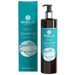 BasicLab Szampon do włosów cienkich. Kosmetyki naturalne UK Dunia Organic.