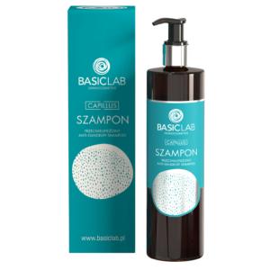 BasicLab Szampon do włosów przeciwłupieżowy. Kosmetyki naturalne UK Dunia Organic.