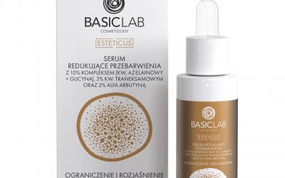 BasicLab Serum redukujące przebarwienia. Ograniczenie i Rozjaśnienie 30ml