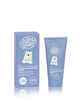 BabyBoom Skoncentrowany krem pielęgnacyjno-ochronny 50ml Kosmetyki naturalne Dunia Organic