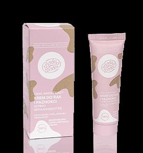 BodyBoom Lekki, nawilżający krem do rąk i paznokci 50ml . Naturalne peelingi Dunia Organic.