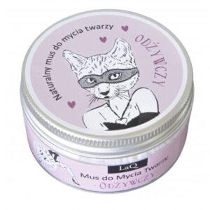 LaQ Odżywczy mus do mycia twarzy. Naturalne kosmetyki handmade UK Dunia Organic