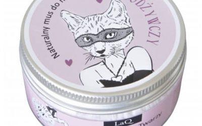 LaQ Odżywczy Mus do mycia twarzy – Kocica 100ml
