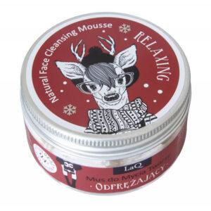 LaQ Relaksujący mus do mycia twarzy. Naturalne kosmetyki handmade UK Dunia Organic