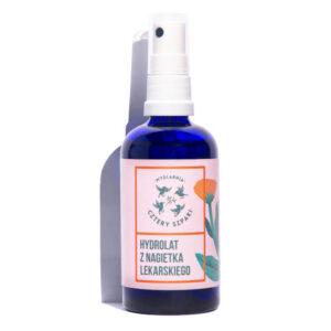Mydlarnia cztery Szpaki Hydrolat z nagietka lekarskiego 100ml . Naturalne kosmetyki UK Dunia Organic