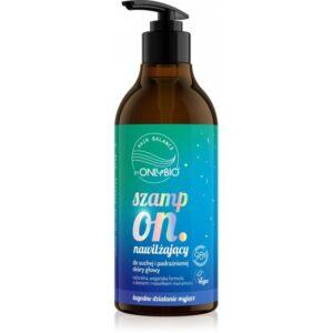 OnlyBio Hair Balance Szampon nawilżający 400ml. Kosmetyki naturalne w UK Dunia Organic