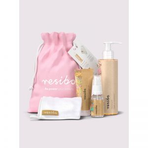 Resibo Beauty box clean skin bag . Kosmetyki naturalne UK Dunia Organic