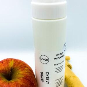 La-Le Mydło potasowe w piance -Imbir i jabłko 200ml. Kosmetyki naturalne uk Dunia