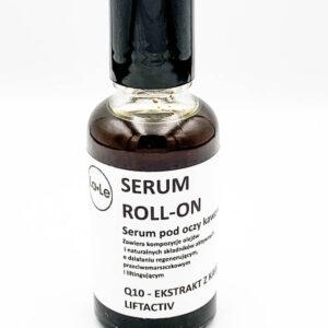 La-Le Serum kawowe pod oczy Roll-on 30ml. Kosmetyki naturlane i organiczne UK. Dunia Organic.