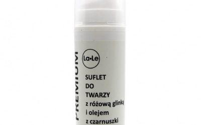La-Le Suflet do twarzy z różową glinką i olejem z czarnuszki 30ml