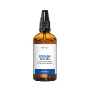 Iossi Naturalny, wzmacniający olej do włosów, Lawenda i rozmaryn. Kosmetyki naturalne UK Dunia Organic