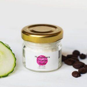 Manufaktura Zacnego Mydła Krem pod oczy Kawa, Ogórek i Aloes 30ml. Kosmetyki naturalne uk1