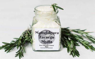 Manufaktura Zacnego Mydła Mus do twarzy i ciała dla mężczyzn. 200ml