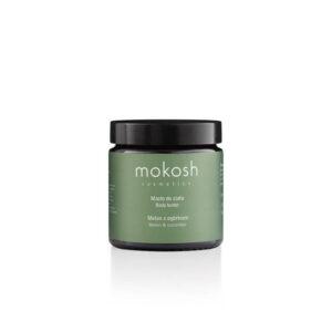 Mokosh Masło do ciała Melon z ogórkiem 120ml. Naturalne kosmetyki w UK.