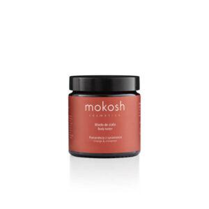 Mokosh Masło do ciała Pomarańcza z cynamonem 120ml. Naturalne kosmetyki w UK.
