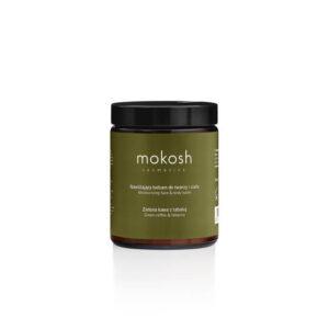 Mokosh Nawilżający balsam do twarzy i ciała Zielona kawa z tabaką 180ml . Naturalne kosmetyki w UK.