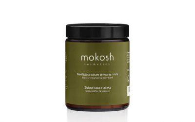 Mokosh Nawilżający balsam do twarzy i ciała Zielona kawa z tabaką 180ml