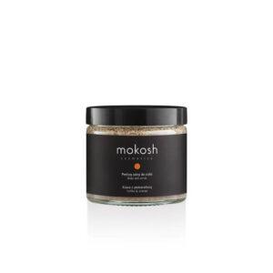 Mokosh Peeling solny do ciała Kawa z pomarańczą 300g . Naturalne kosmetyki w UK.