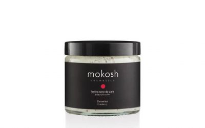 Mokosh Peeling solny do ciała Żurawina 300g