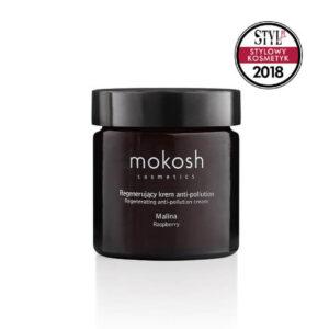 Mokosh Regenerujący krem do twarzy anti-pollution Malina 60ml Naturalne kosmetyki w UK