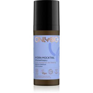 OnlyBio Hydra Mocktail Krem kompres ultranawilżający 50 ml Kosmetyki naturalne w UK Dunia Organic